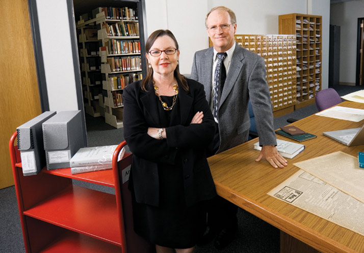 Kenneth Price and Katheryn Walter, co-directors of the Center