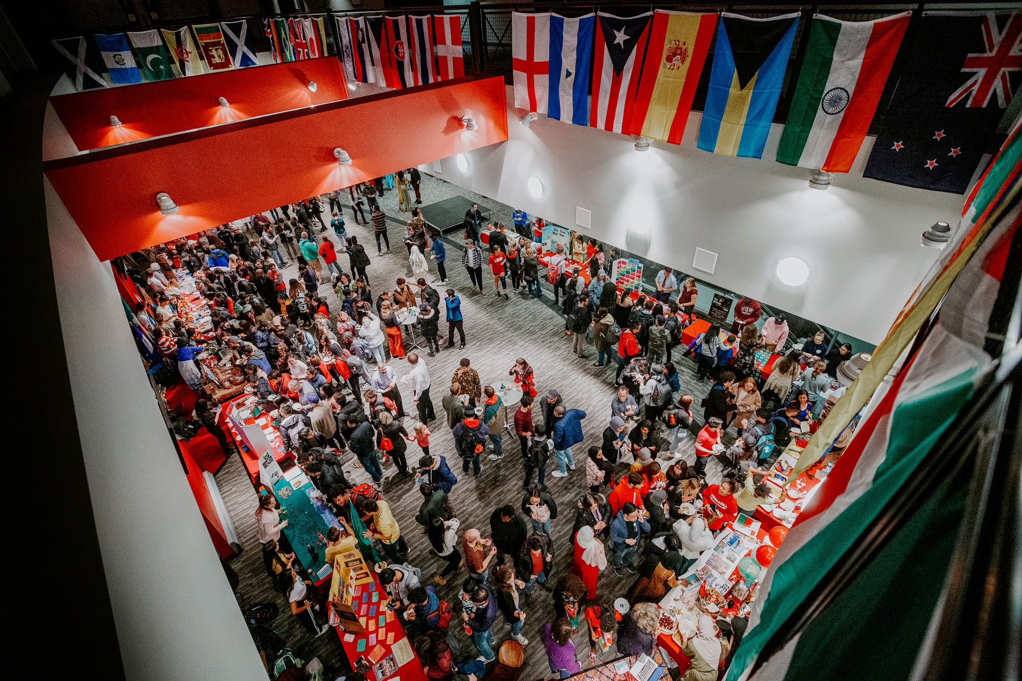 The first-ever Global Huskers Festival was hosted on November 19 at Memorial Stadium. Photo Credits: Craig Chandler, University Communication.