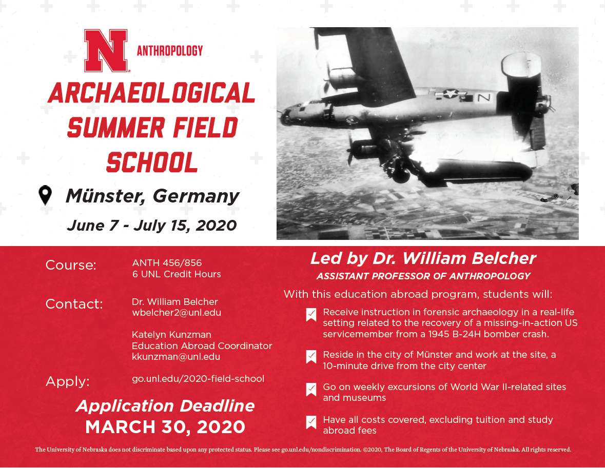 Archaeological Summer Field School 2020