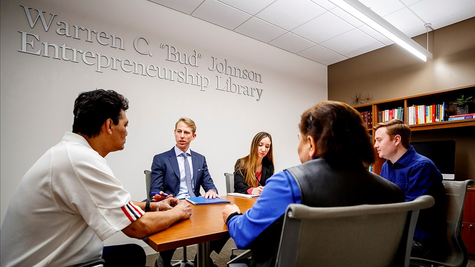 Nebraska law students work year-round to provide free immigration services to those in need. In recognition for these and other free services it provides, the college was named a 2019 Pro Bono Leader by the American Bar Association.