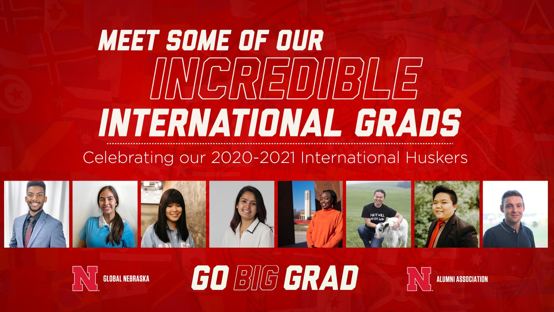 Meet a Global Husker   2021 International Student Graduation Reception