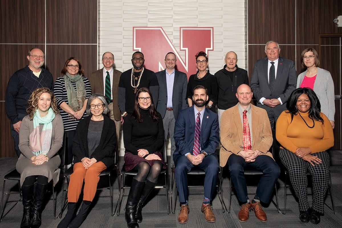 Members of the Global Strategy Committee for Nebraska's ACE Internationalization Laboratory met at the kickoff meeting on January 23, 2020.