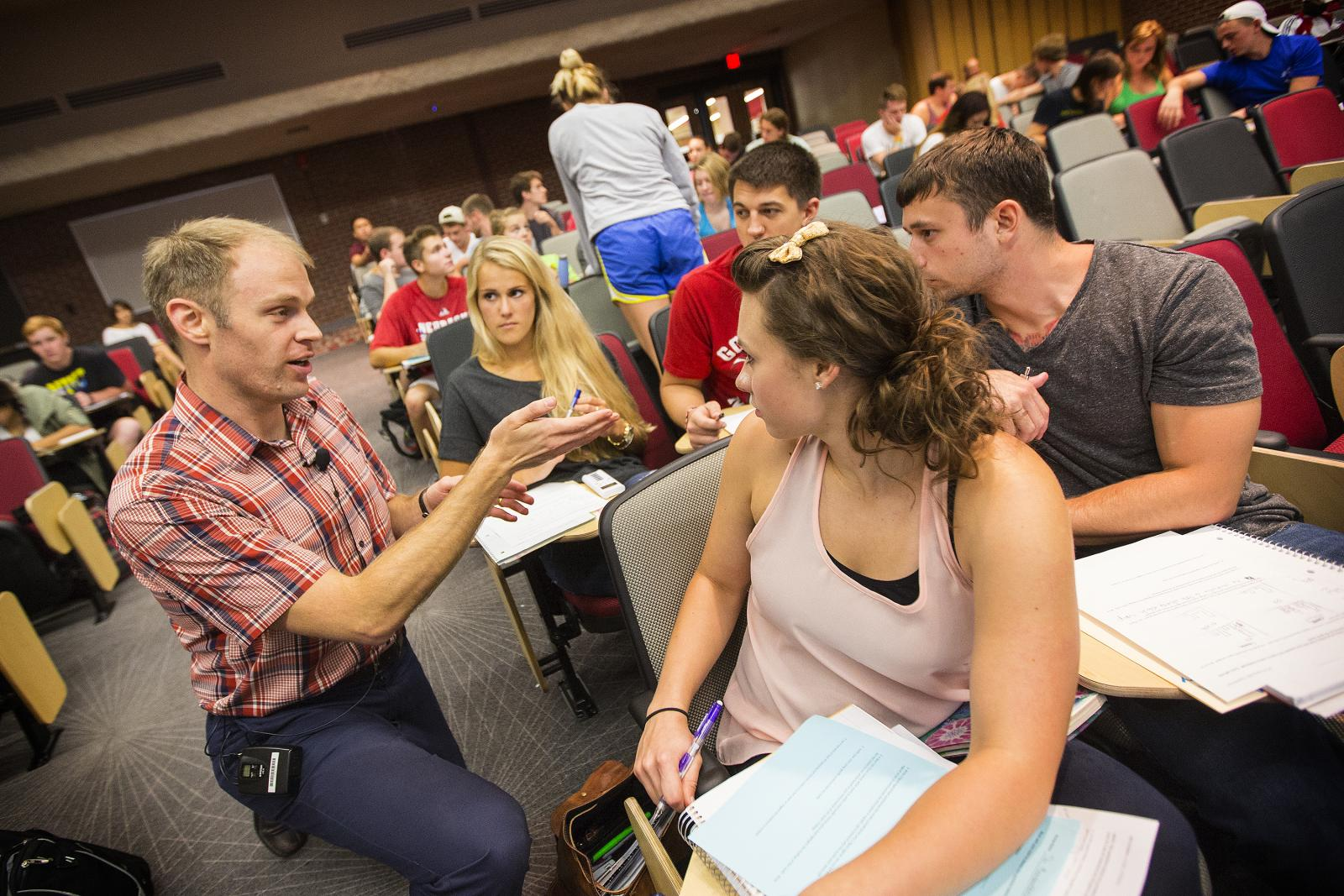 The University of Nebraska-Lincoln is proud of its incredible faculty and staff, who will be right there to support you in your academic career.